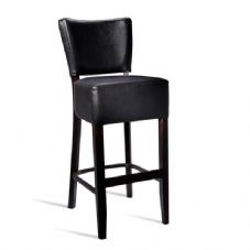 Vanna Club Bar Stool Wenge Black